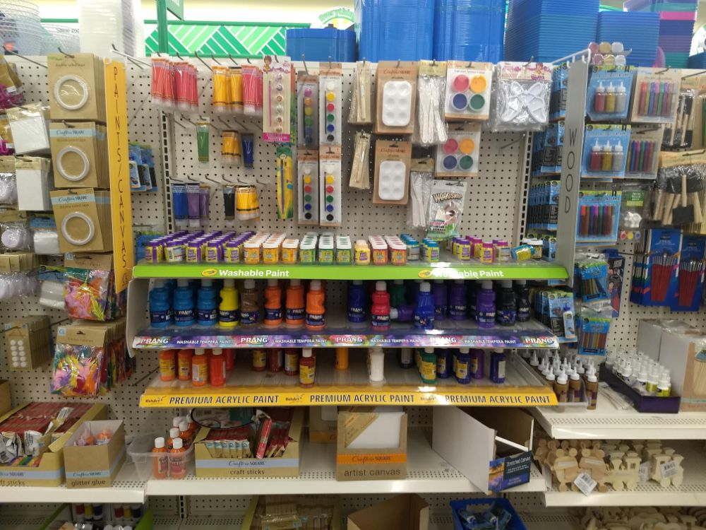 Dollar Tree Crafters Square Craft Supplies
