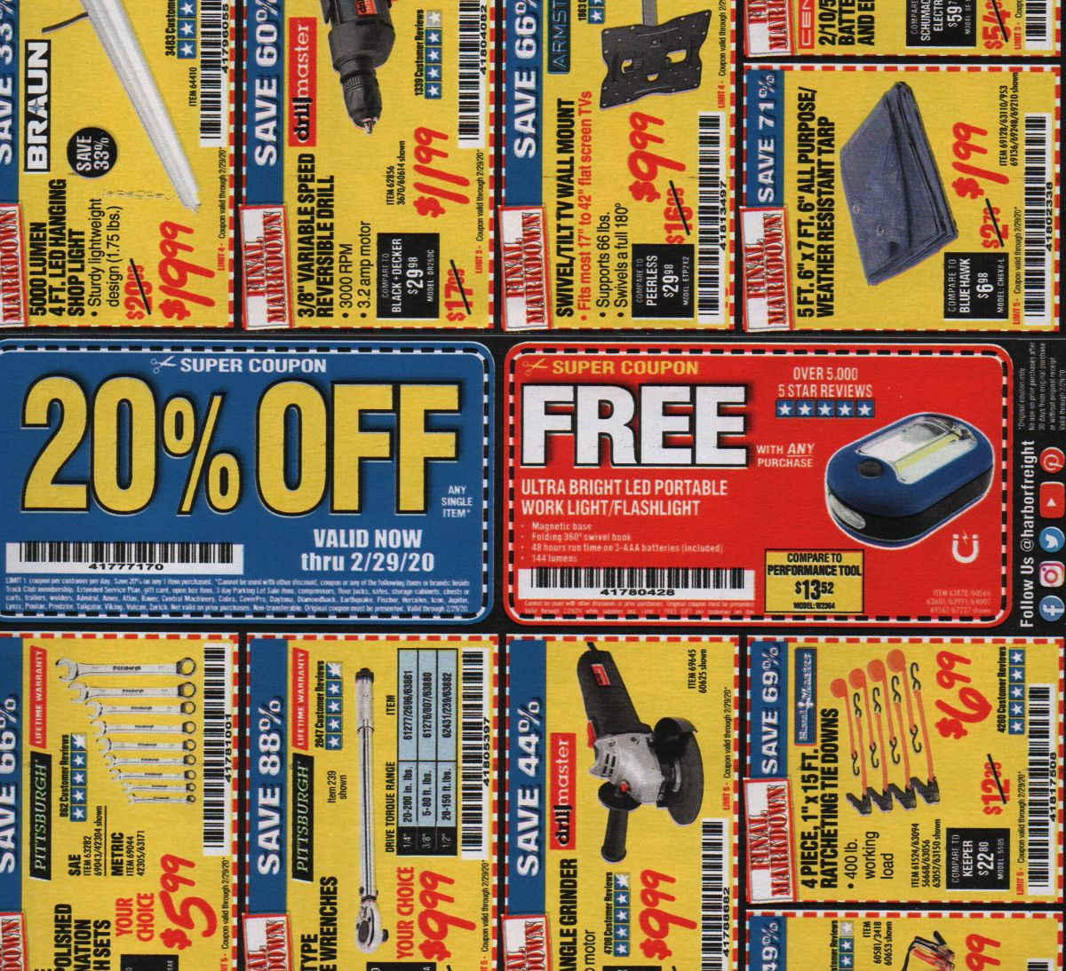 Can You use Multiple Harbor Freight Coupons at Once?
