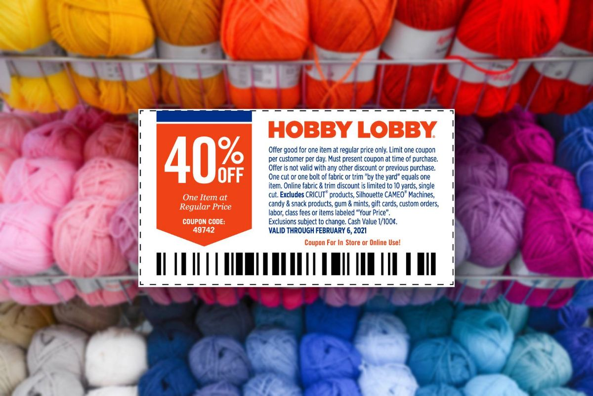 Hobby Lobby is Ending Their 40% Off Coupons 🙁