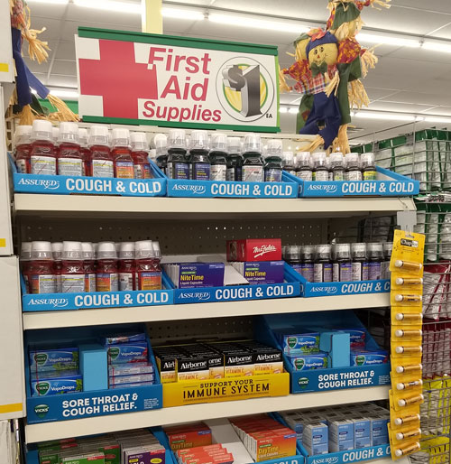 Dollar Tree First Aid