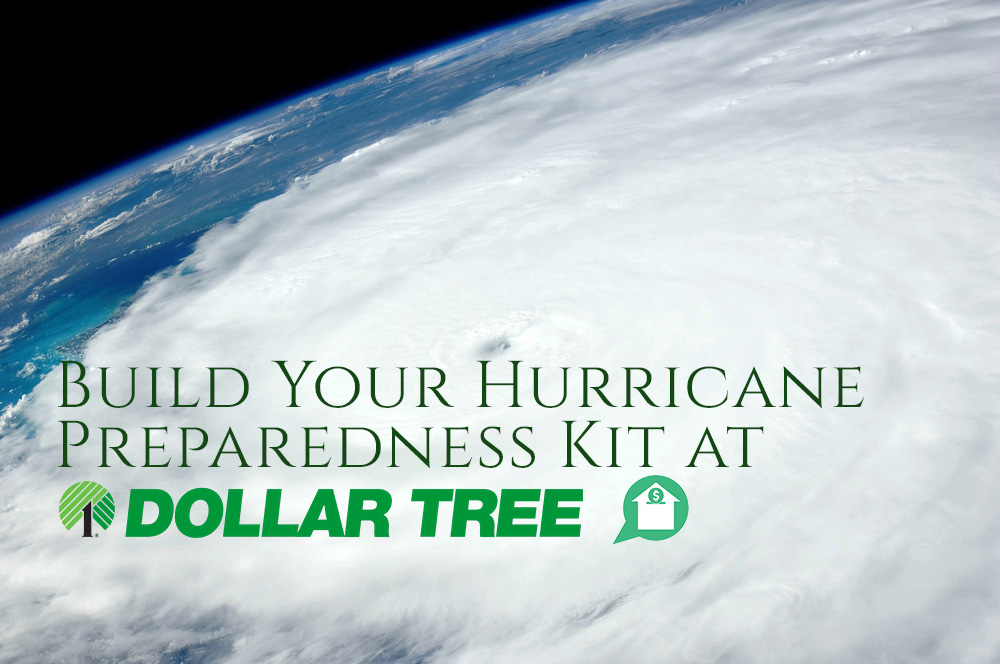 Build Your Hurricane Preparedness Kit at Dollar Tree
