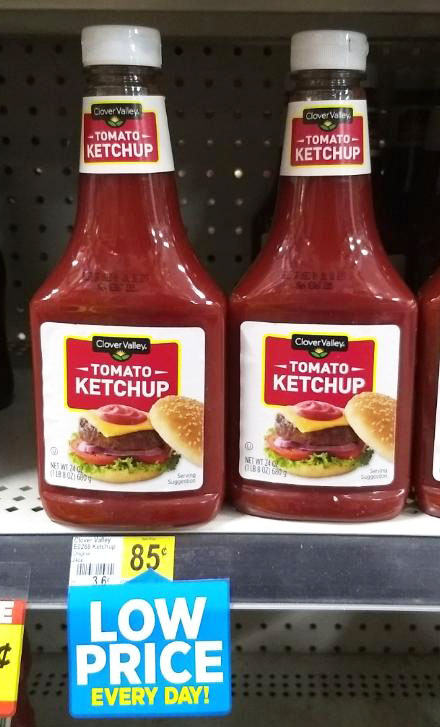 Dollar General Ketchup