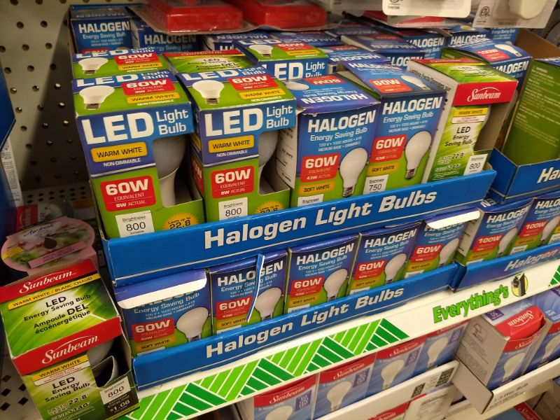 LED Bulbs Dollar Tree