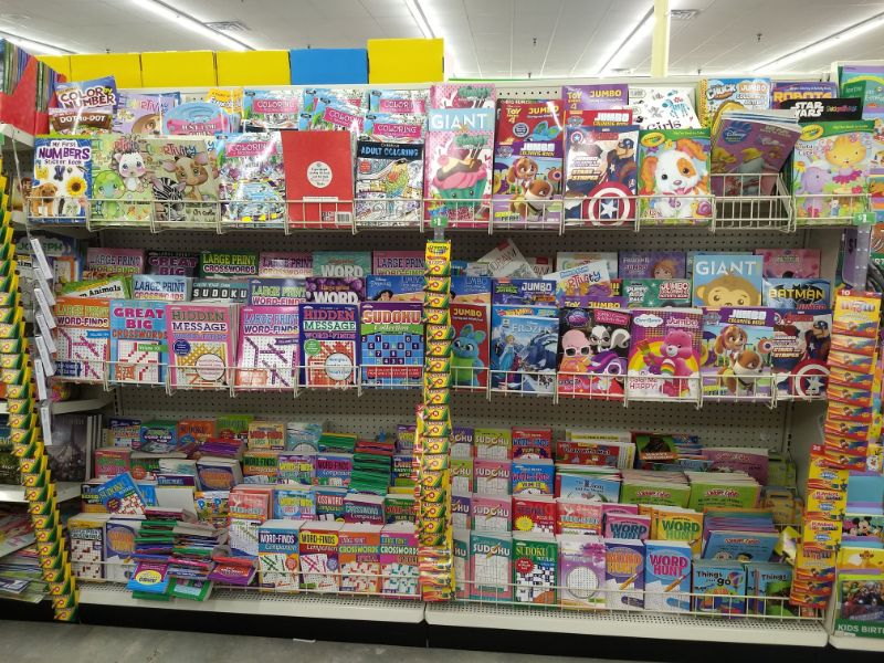 Dollar Tree Coloring Books