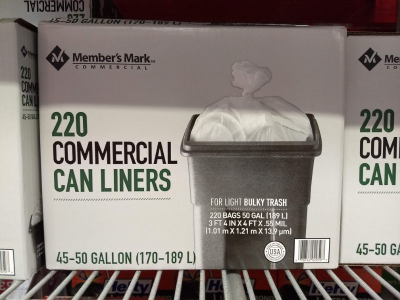 Sam's Club Made in the USA Commercial Trash Bags