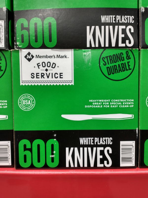 Sam's Club Made in the USA Plastic Knives