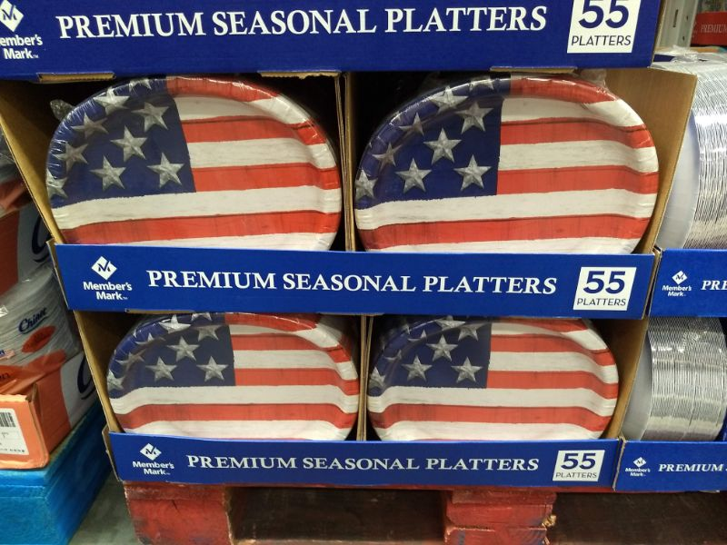 Sam's Club Made in the USA Paper Plates