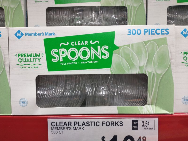 Sam's Club Made in the USA Plastic Spoons