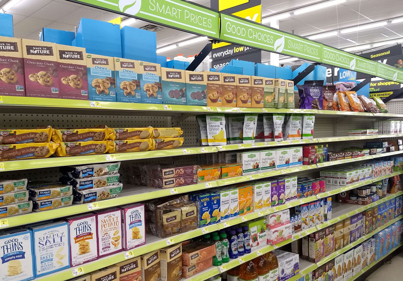 Dollar General Health Foods