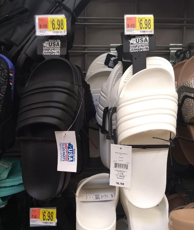 Walmart Made in the USA Shoes